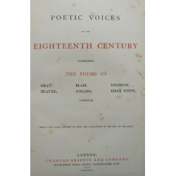 Poetic Voices Of The...