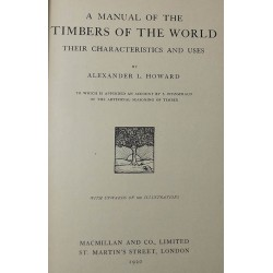 A Manual of the Timbers of...